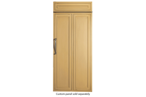 """Large image of Monogram 36"""" Panel-Ready Right-Hinge Built-In All Freezer - ZIF360NNRH"""