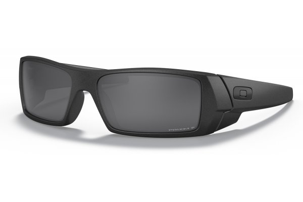 Large image of Oakley Gascan Prizm Black Polarized Lenses, Steel Frame Sunglasses, 60mm - OO90143560