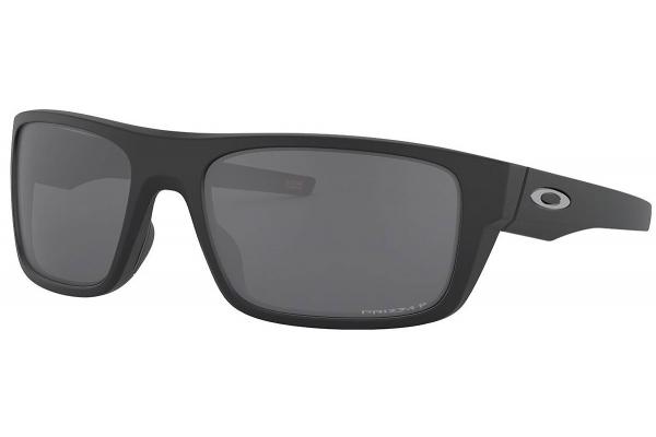 Large image of Oakley Drop Point Prizm Black Polarized Matte Black Sunglasses, 60mm - 0OO9367 08 60