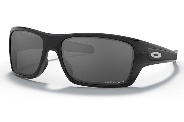 Large image of Oakley Turbine Prizm Matte Black Sunglasses, 63mm - OO9263-4263