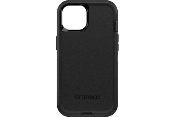 Large image of OtterBox Defender Series Black Apple iPhone 13 Case - 77-85437