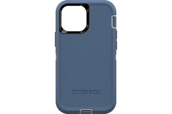 Large image of OtterBox Defender Series Blue Apple iPhone 13 Mini Case - 77-83427