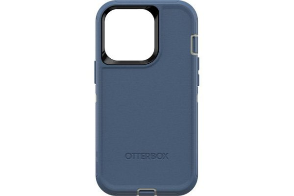 Large image of OtterBox Defender Series Blue Apple iPhone 13 Pro Case - 77-83423