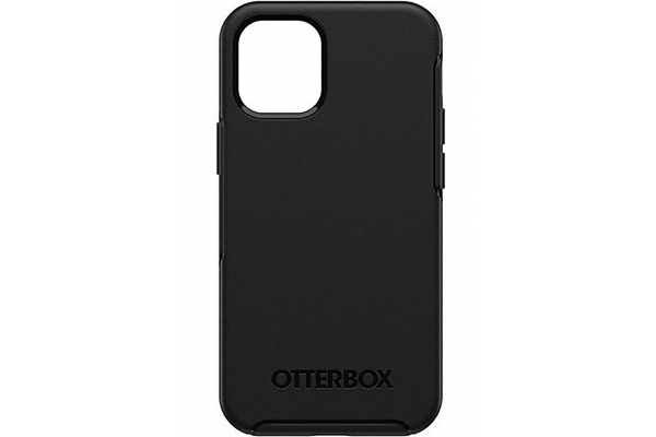 Large image of Otterbox Black Symmetry Series Case For Apple iPhone 12 Mini - 77-65365
