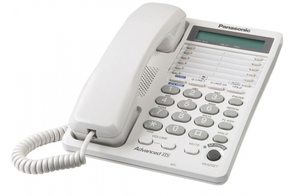 Large image of Panasonic 2-Line Integrated Telephone System - KXTS208W