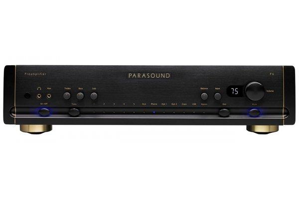 Large image of Parasound Halo P 6 Black 2.1 Channel Preamplifier & DAC - P6BLK