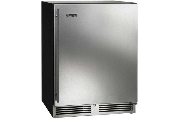 "Large image of Perlick ADA Compliant 24"" Stainless Steel Left-Hinge Indoor Freezer - HA24FB-4-1L"