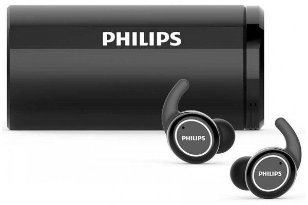 Large image of Philips 7000 Series Black True Wireless In-Ear Headphones - TAST702BK/27 & 8PN404