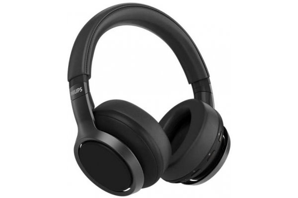 Large image of Philips Black Wireless Over-Ear Headphones - TAH9505BK/00