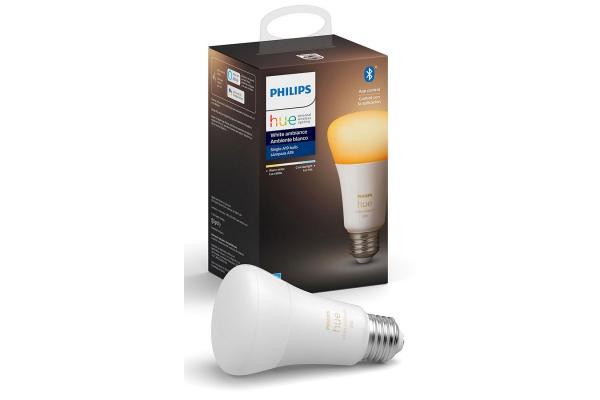 Large image of Philips Hue E26 1-Pack White Ambiance Bulb - 548495