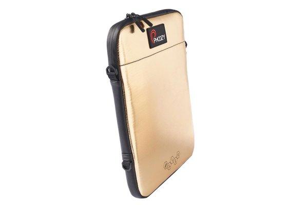 """Large image of Phoozy 11"""" Iridium Gold Sleeve Carrying Case - 810200"""