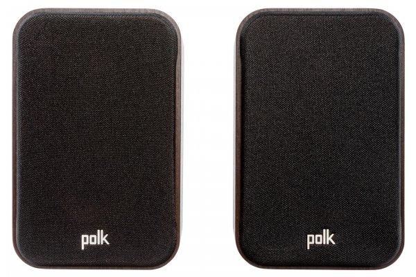 Large image of Polk Audio Signature Elite ES10 Walnut Surround Speakers For Home Theater (Pair) - 300362-14-00-005