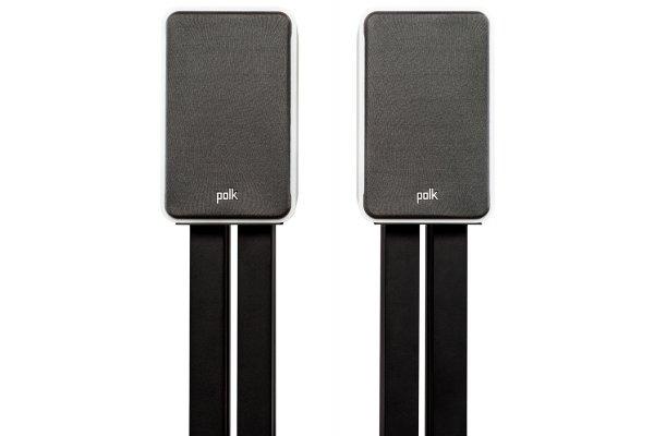 Large image of Polk Audio Signature Elite ES15 White Compact Bookshelf Loudspeakers (Pair) - 300363-03-00-005
