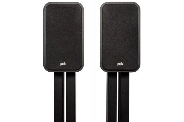 Large image of Polk Audio Signature Elite ES20 Black Bookshelf Loudspeakers (Pair) - 300364-01-00-005