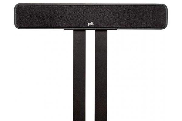 Large image of Polk Audio Signature Elite ES35 Black Slim Center Channel Loudspeaker (Each) - 300366-01-00-005