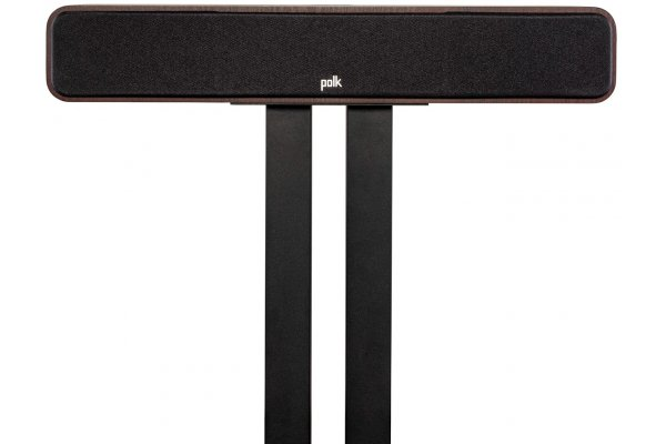 Large image of Polk Audio Signature Elite ES35 Walnut Slim Center Channel Loudspeaker (Each) - 300366-14-00-005