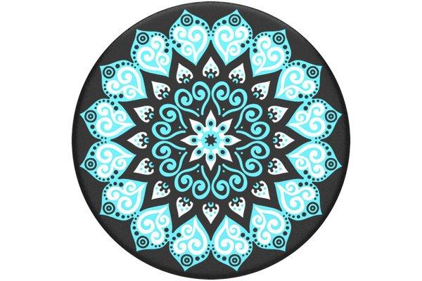 Large image of Popsockets Swappable Peace Mandala Sky Phone Grip - 801146