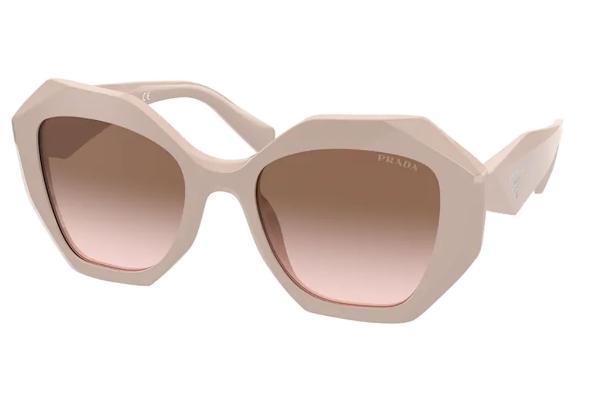 Large image of Prada Powder PR 16WS Gradient Sunglasses 53mm - PR16WSVYJ0A653
