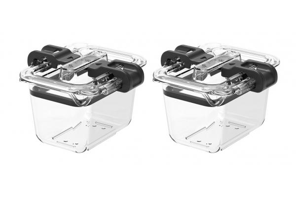 Large image of Prepara Latchlok 0.5 Cup Tritan Food Storage Container (Set of 2) - LL25106