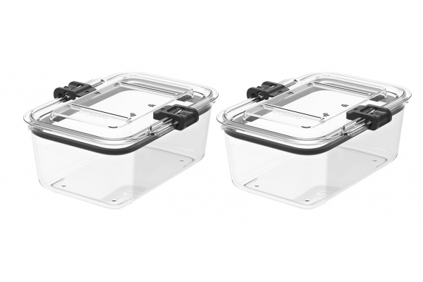 Large image of Prepara Latchlok 5.25 Cup Tritan Food Storage Container (Set of 2) - LL25137