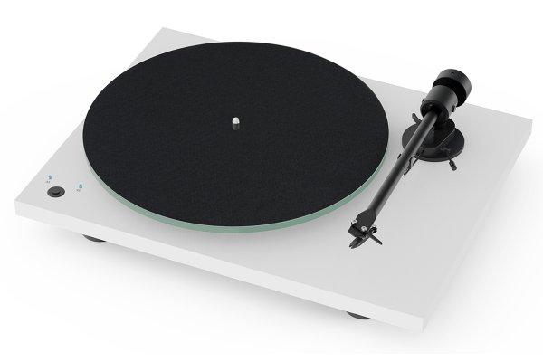 Large image of Pro-Ject T1 Phono SB Satin White Turntable - T1PHONOSBWH