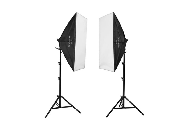 Large image of ProMaster 2 Light AC Softbox Kit XL - PRO4189