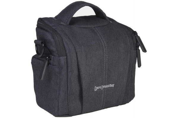 Large image of ProMaster Charcoal Grey Cityscape 10 Shoulder Bag - PRO4345