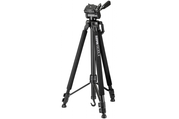 Large image of ProMaster Sunpak 6630LX Medium-Duty Aluminum Tripod - 620-663LX