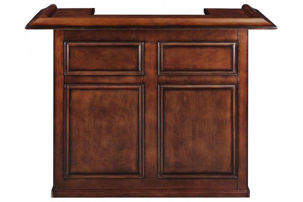 "Large image of RAM Game Room 60"" Chestnut Dry Bar - DBAR60CN"