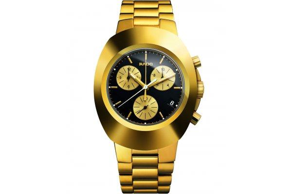 Large image of Rado New Original Chronograph Black Dial Watch, 38.5mm - R12949153