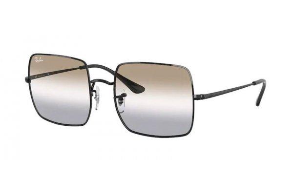 Large image of Ray-Ban 1971 Bi-Gradient Square Sunglasses, Polished Black Frames, 54mm - RB1971002GG54
