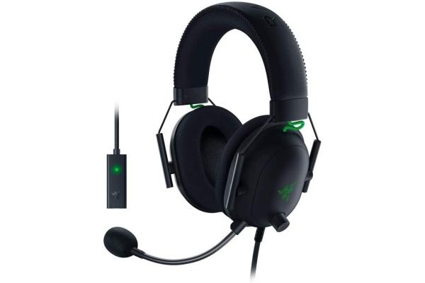 Large image of Razer Black BlackShark V2 Gaming Headset - RZ04-03230100-R3U1