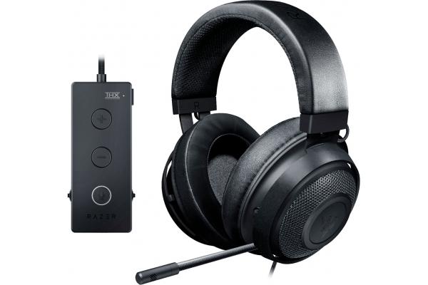 Large image of Razer Black Kraken Tournament Edition Wired Gaming Headset - RZ04-02051000-R3U1