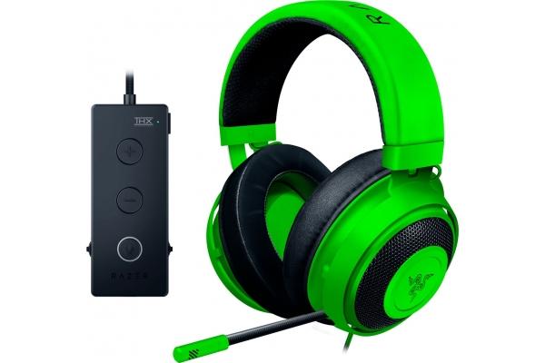 Large image of Razer Green Kraken Tournament Edition Wired Gaming Headset - RZ04-02051100-R3U1