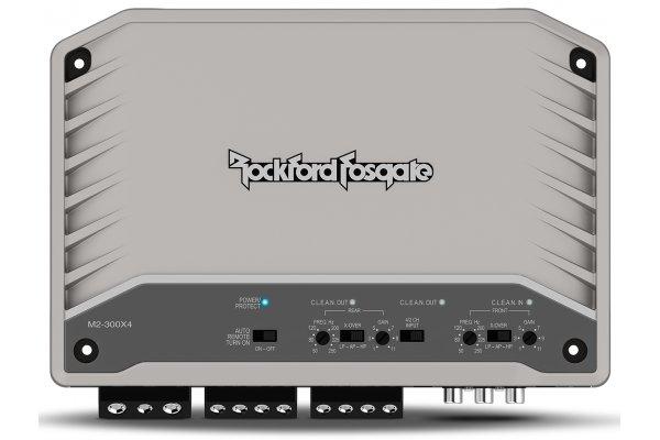Large image of Rockford Fosgate M2 300 Watt 4-Channel Element Ready Amplifier - M2-300X4