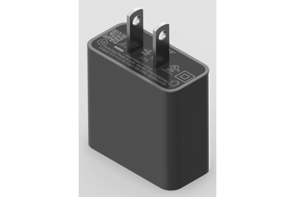 Large image of SONOS Lunar Black 10W USB Power Adapter - USBADUS1BLK