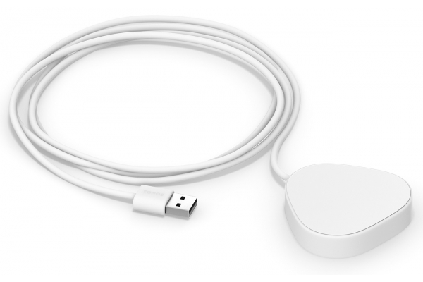 Large image of SONOS Lunar White Roam Wireless Charger - RMWCHUS1