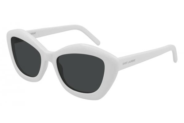 Large image of Saint Laurent Cat Eye SL 68 Ivory Sunglasses 54mm - SL68-004