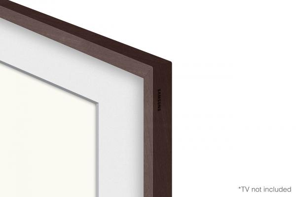 "Large image of Samsung (2021) 65"" The Frame Customizable Bezel In Modern Brown - VG-SCFA65BWBZA"