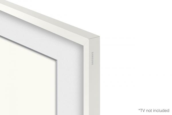 "Large image of Samsung (2021) 50"" The Frame Customizable Bezel In Modern White - VG-SCFA50WTBZA"