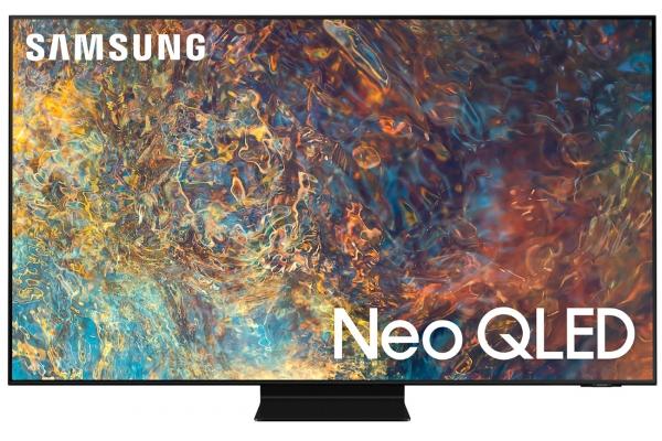 "Large image of Samsung 43"" QN90A Neo Black QLED 4K UHD Smart TV (2021) - QN43QN90AAFXZA"