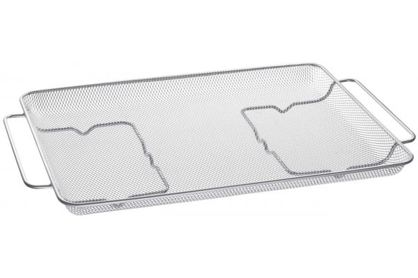 """Large image of Samsung Stainless Steel Air Fry Tray Accessory For 30"""" Ranges - NX-AA5000RS"""