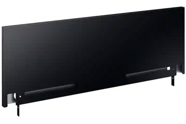"Large image of Samsung 9"" Black Backguard For 30"" Slide-In Range - NX-AB5900RB/AA"