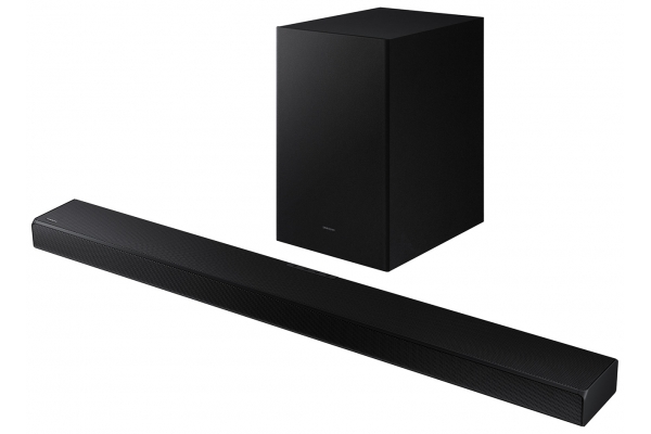 Large image of Samsung Black 3.1 Channel Soundbar With Dolby 5.1 And DTS Virtual:X (2021) - HW-A650/ZA