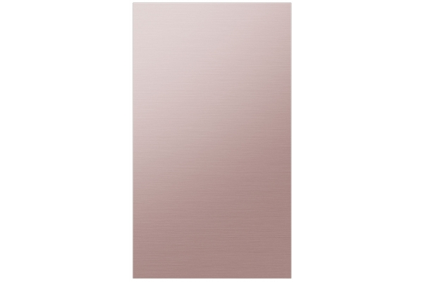 Large image of Samsung Champagne Rose Steel BESPOKE 4-Door Flex Refrigerator Bottom Panel - RA-F18DBBQH/AA