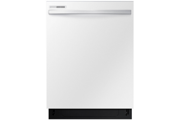 """Large image of Samsung 24"""" White Built-In Dishwasher - DW80R2031UW/AA"""