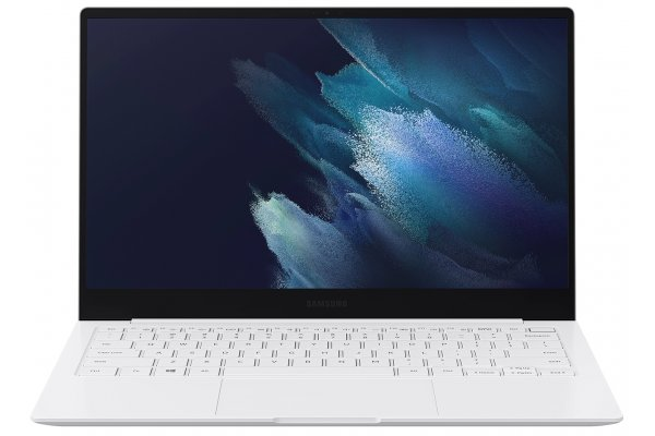 "Large image of Samsung Galaxy Book Pro 13.3"" Mystic Silver Laptop Intel Core i5-1135G7 8GB RAM 256GB SSD, Intel Iris Xe Graphics - NP930XDB-KE2US"