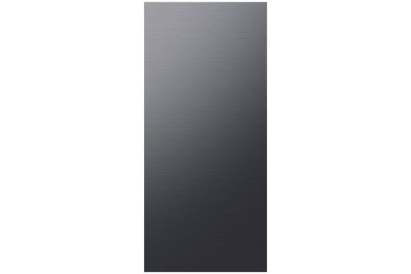 Large image of Samsung Matte Black Steel BESPOKE 4-Door Flex Refrigerator Top Panel - RA-F18DUUMT/AA