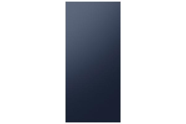 Large image of Samsung Navy Steel BESPOKE 4-Door Flex Refrigerator Top Panel - RA-F18DUUQN/AA