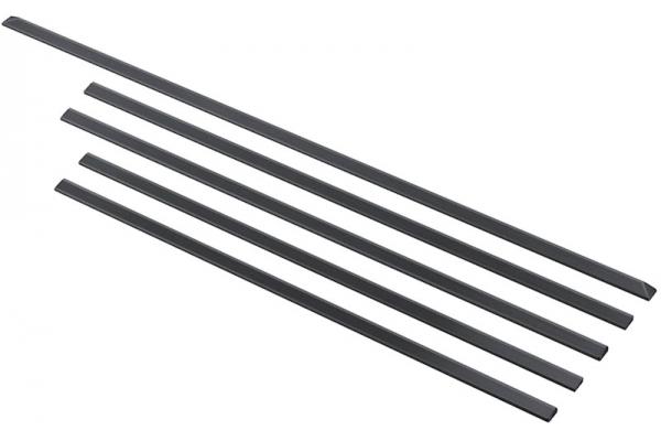 "Large image of Samsung Black Stainless Steel Trim Kit For 30"" Slide-In Gas Range - NX-AF5000RM/AA"
